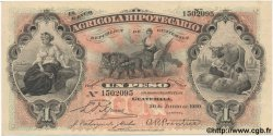 1 Peso GUATEMALA  1920 PS.101b SPL