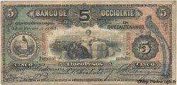 5 Pesos GUATEMALA  1903 PS.176b TB