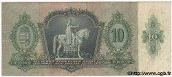 10 Pengo HONGRIE  1936 P.100 TTB