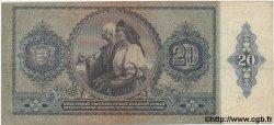 20 Pengo HONGRIE  1941 P.109 TTB
