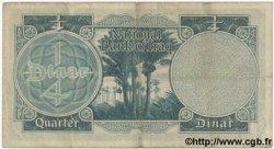 1/4 Dinar IRAK  1947 P.032 TB+