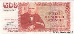 500 Kronur ISLANDE  1981 P.51