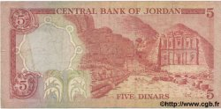 5 Dinars JORDANIE  1975 P.19b B à TB