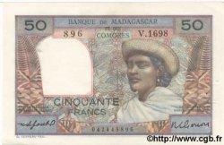 50 Francs MADAGASCAR  1950 P.45b SPL
