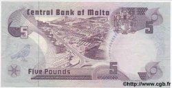 5 Pounds MALTE  1979 P.35a SPL