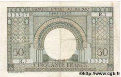 50 Francs MAROC  1949 P.44