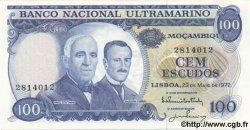 100 Escudos MOZAMBIQUE  1972 P.113 NEUF
