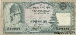 100 Rupees NÉPAL  1981 P.34c TB
