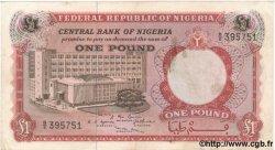 1 Pound NIGERIA  1967 P.08 TTB