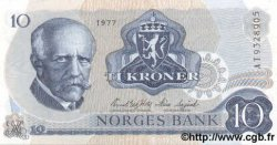 10 Kroner NORVÈGE  1977 P.36b NEUF