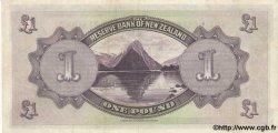 1 Pound NOUVELLE-ZÉLANDE  1934 P.155 SUP+