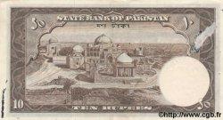 10 Rupees PAKISTAN  1953 P.13 pr.TTB