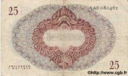 25 Gulden PAYS-BAS  1945 P.077 TB+