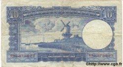 10 Gulden PAYS-BAS  1949 P.083 TB