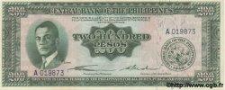 200 Pesos PHILIPPINES  1949 P.140 NEUF