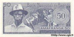 50 Francs RWANDA  1976 P.08d NEUF