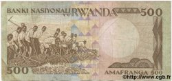 500 Francs RWANDA  1981 P.16 TB+