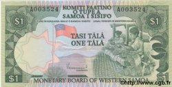 1 Tala SAMOA  1980 P.19 NEUF