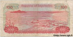 100 Rupees SEYCHELLES  1977 P.22 TB
