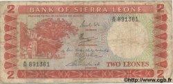 2 Leones SIERRA LEONE  1969 P.02c B+