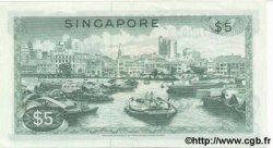 5 Dollars SINGAPOUR  1972 P.02c pr.NEUF