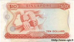 10 Dollars SINGAPOUR  1973 P.03d SPL