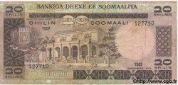 20 Shilin SOMALIE RÉPUBLIQUE DÉMOCRATIQUE  1978 P.23 B à TB