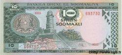 10 Shilin SOMALIE RÉPUBLIQUE DÉMOCRATIQUE  1980 P.26 NEUF
