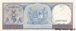 5 Gulden SURINAM  1963 P.120 NEUF