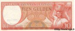 10 Gulden SURINAM  1963 P.031