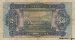 50 Livres SYRIE  1939 P.044 B à TB