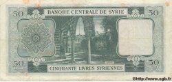 50 Livres SYRIE  1958 P.084 pr.TTB