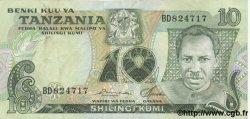 10 Shilingi TANZANIE  1978 P.06a TTB