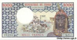 1000 Francs TCHAD  1978 P.03a NEUF