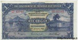 1 Dollar TRINIDAD et TOBAGO  1939 P.05b TTB+ à SUP