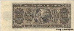 100 Lira TURQUIE  1942 P.144a