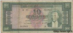 10 Lira TURQUIE  1930 P.156 B