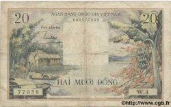 20 Dong VIET NAM SUD  1956 P.004 pr.TB