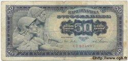 50 Dinara YOUGOSLAVIE  1965 P.079a B+