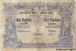 100 Piastres - 100 Piastres INDOCHINE FRANÇAISE Saïgon 1903 P.033 AB