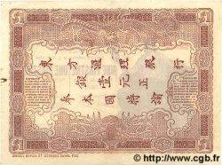 1 Piastre / 1 Piastre INDOCHINE FRANÇAISE  1909 P.026b TTB+