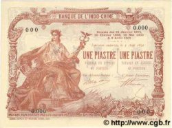 1 Piastre - 1 Piastre INDOCHINE FRANÇAISE Saïgon 1909 P.034bs NEUF