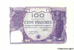 100 Piastres INDOCHINE FRANÇAISE Saïgon 1919 P.039s pr.NEUF