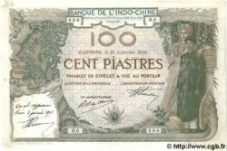 100 Piastres INDOCHINE FRANÇAISE  1910 P.037s TTB+