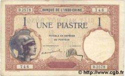 1 Piastre INDOCHINE FRANÇAISE  1926 P.048a TTB+