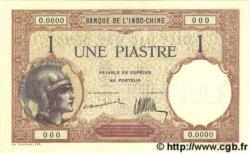 1 Piastre INDOCHINE FRANÇAISE  1926 P.048as pr.NEUF