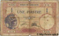 1 Piastre INDOCHINE FRANÇAISE  1927 P.048b B