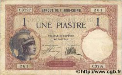1 Piastre INDOCHINE FRANÇAISE  1927 P.048b