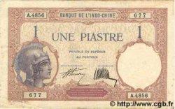 1 Piastre INDOCHINE FRANÇAISE  1927 P.048b TTB