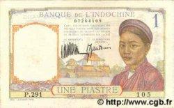 1 Piastre INDOCHINE FRANÇAISE  1935 P.052 pr.NEUF